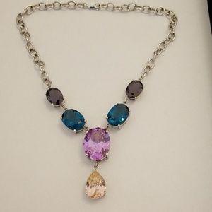 CZ sterling silver 925 necklace